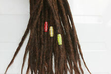 3 dread tubes in rasta colours - beads for dreadlocks - dreadlock accessory - dr