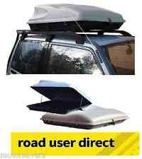 Silver 415 Litre Large Capacity Car Roof Box / Top Box / Luggage Box