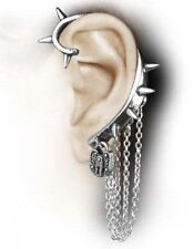 Alchemy Hornets/Hornet's Nest Earring E303, punk/cuff/wrap around/spiked/gothic