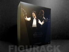 Hot Toys Star Wars, Han Solo and Chewba 1/6th scale Action Figure Set, US seller