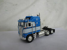 DCP  1/64 KENWORTH CAB OVER BLUE & WHITE TRUCK TRACTOR L@@K!