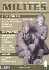 MILITES n10 - rivista militaria magazine Brigata Sassari Cercamine 42 artiglieri