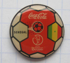 COCA-COLA / SENEGAL / FIFA WORLD CUP 2002 JAPAN-KOREA  Pin (103d)
