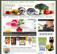 DIET & WEIGHT LOSS affiliate website for sale with DAILY AUTO CONTENT UPDATES