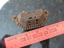 Vintage cast iron pull handle cabinet drawer knob antique desk furniture salvage