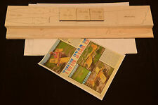 TWIN STAR Laser Cut Short Kit, Plans & Instruction 62 in. wing span