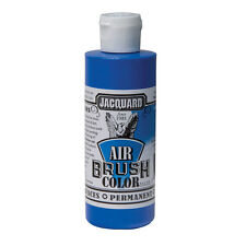 Jacquard Air Brush Colours Paint for Shoes / Sneakers - Metallic Blue - 4oz