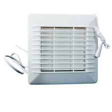 "Bathroom Kitchen Extractor Exhaust Fan Pull Cord 100mm 4"", 180 M3/Hr. Bath Room"