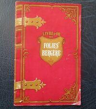 c. 1950 Livre d'OR Des Folies Bergere Programme - Peters Sisters, Col. Fleuriot