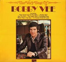 BOBBY VEE the very best of SLS 50271 uk sunset reissue LP PS EX/EX