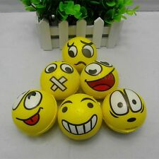 Smiley Face Smile Emoji Anti Stress Relief ADHD Mood Squeeze Ball Reliever Toy