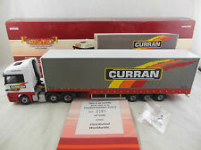Corgi CC13811 Mercedes Benz Actros Step Frame Curtainside D Curran & Sons Ltd