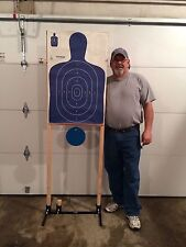 lazyhanger Steel Target Stand Fits IDPA & IPSC targets Combo 18/24  ADVANCED*