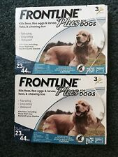 Frontline Plus for Dogs Flea and Tick Medicine Medium 23-44 lbs. 6 Month Supply