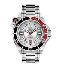 Bulova Men's 98B167 Precionist Catamount Quartz Black and Red Bezel Sport Watch