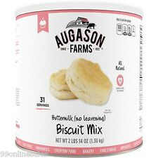 NEW Augason Farm Buttermilk Biscuit Mix Emergency Disaster Survival Camp RV Food