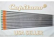 "26""-12 Capitano® Fiberglass Target Practice Arrow Replaceable Screw-In Tips 66CM"