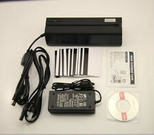 MSR606 Magstripe Card Reader Write Encoder Credit Card Swipe USB Free 20pc Card