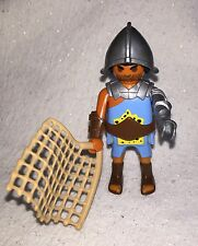 Playmobil Roman Arena Colosseum 5817 5837 Gladiator Blue Clothes Armoured Arm