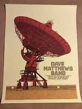 Dave Matthews Band Poster 2014 PNC Bank Holmdel, New Jersey Signed # 22/665 DMB