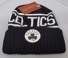 Mitchell & Ness NBA Boston Celtics Cuffed Beanie Knit Hat Reflective Logo