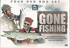 GONE FISHING John Wilson & Matt Haynes 4 DVD BOXSET NEW Rudd Carp Barbel Chub