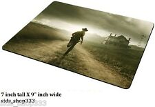 The Walking Dead Run ! AMC Anti slip  COMPUTER MOUSE PAD 9 X 7inch rick Grimes