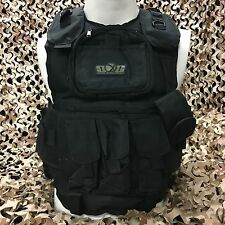 NEW Gen X Global GxG Tactical Paintball Woodsball Vest Pod Harness - Black