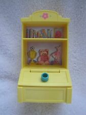 FISHER PRICE Loving Family Dollhouse TOY CABINET STORAGE SHELVES Lid Lifts