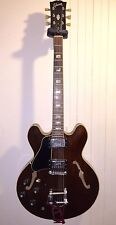 1972 Gibson ES-335TD Lefty Left Handed Walnut Finish Guitar