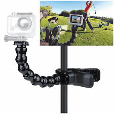 Jaws Flex Clamp Mount + 8 joint Adjustable Goose Neck for Gopro Hero 2 3 3+ 4 5