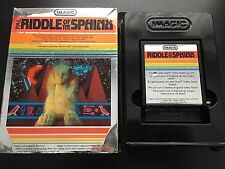 RIDDLE OF THE SPHINX for the ATARI 2600 PAL BOXED