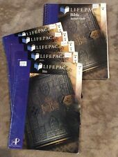 Alpha Omega Lifepac Bible Gr. 6 Teachers Guide And Student Books