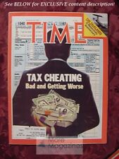 TIME Magazine March 28 1983 Mar 3/28/83 TAX CHEATING FAULKLAND ISLANDS
