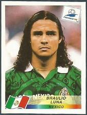 PANINI WORLD CUP FRANCE 1998- #364-MEXICO-BRAULIO LUNA