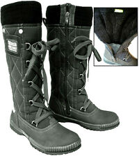 Tamaris 26613 Black Fur Lined Winter Snow Water Resistant Boots UK7 - RRP £69.99