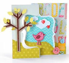 Sizzix Fancy Frame Flip-Its Card #658840 Movers L Base die Retail 29.99 FUN!