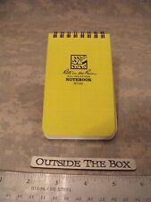 """""""Rite in the Rain"""" All-Weather Universal Notebook, Yellow, 3"""" x 5"""" #135"""