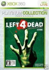 Used Xbox 360 Left 4 Dead Platinum MICROSOFT JAPAN JP JAPANESE JAPONAIS IMPORT