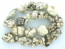 """1/2 to 1 Inch Nugget Magnesite Buffalo Turquoise Bead Strand 15"""" Strand MB197"""