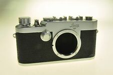 Chrome Leica 1G Film Rangefinder Camera #925890 - Issues -