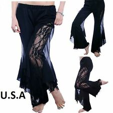 Belly Dance Tribal Melodia Fusion Yoga Pants Dance Costume USA Quick Ship