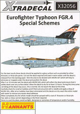 Eurofighter Typhoon FGR.4 in Special Schemes (1/32 decals, XtraDecal 32056)