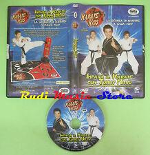 DVD film IMPARA IL KARATE CON TOMMY NITRO karate kids SPIN MASTER no vhs(D3)