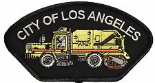 """City Of Los Angeles Sanitation Sweeper Truck Patch Size 5""""X3"""""""