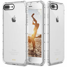 For Apple iPhone 7 Plus Case Clear Hybrid Slim Shockproof Soft TPU Bum