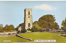Lincolnshire Postcard - St. Peters Church - Scotter    B614