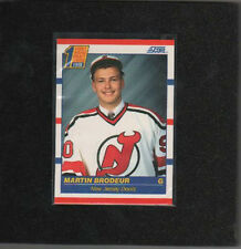 1990 Score Martin Brodeur RC - Future Hall of Famer