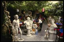 118074 Statuary Abounds At The Acropolis Restaurant A4 Photo Print
