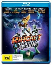 RATCHET & CLANK animated movie   Blu Ray - Sealed Region B & for UK